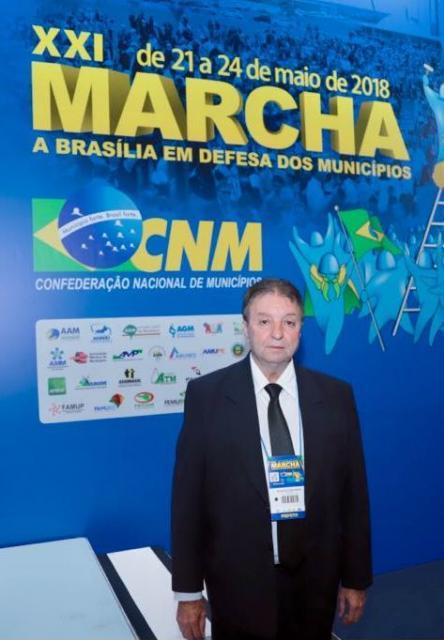 Prefeito Reinaldo Krachinski participa da XXI Marcha dos Prefeitos a Brasília em Defesa dos Municípios