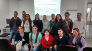 Secretária da INCOTUR Regina Cruz participou de treinamento em Curitiba