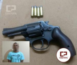 Policia Militar prende acusado do Homicídio no Jardim Curitiba
