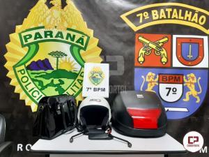 Policiais do 7º BPM prenderam autor de furtos em Cruzeiro do Oeste