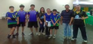 Parceria entre escolas de Goioerê e Águas Claras TTPONG comemora classificação na fase final de Tênis de Mesa