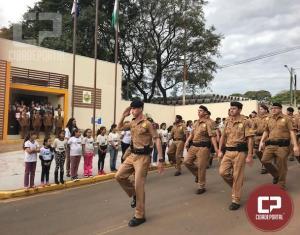 7° Batalhão da Polícia Militar do Paraná realiza solenidade em homenagem aos 50 anos da Unidade