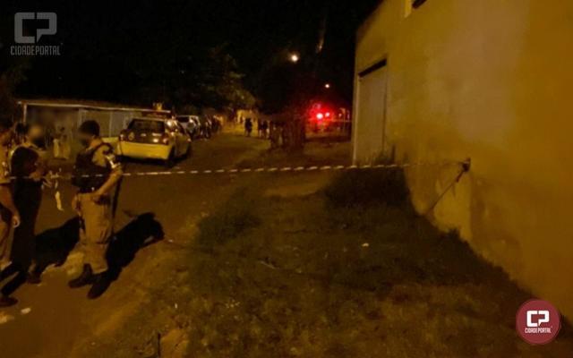 HOMICÍDIO TRIPLO: Três pessoas foram mortas na Vila Guaíra em Goioerê