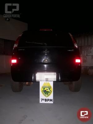 7º BPM apreende drogas em Cruzeiro do Oeste e três veículos com contrabando em Tuneiras do Oeste