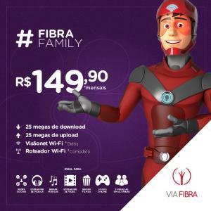A Visãonet lançou seus novos planos de internet via fibra que vão de 12 à 50 MB!