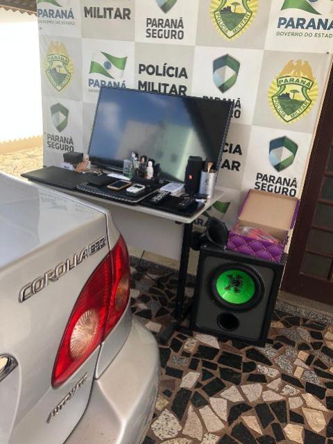 Rotam rural de Cianorte recupera veículo e objetos furtados antes mesmo da dona perceber o delito
