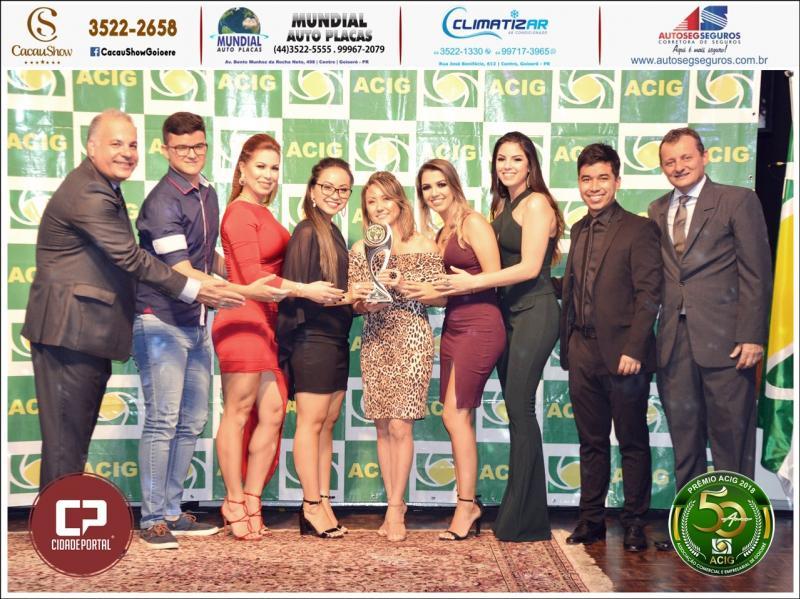 Ótica e Relojoaria Orient Recebe Premio Acig Melhores do ano 2018