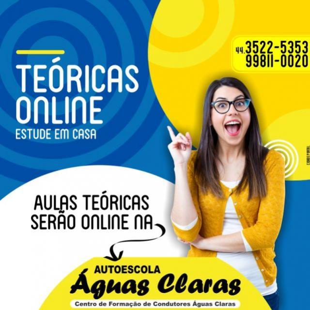 Autoescola Águas Claras de Goioerê realizará aulas teóricas online! Corra e garanta a sua vaga nas primeiras turmas!