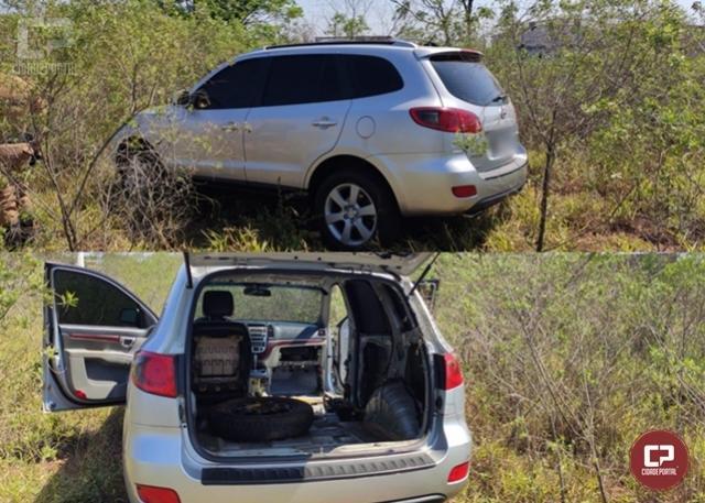 PRE de Cianorte apreende veículo preparado para prático de ilícito