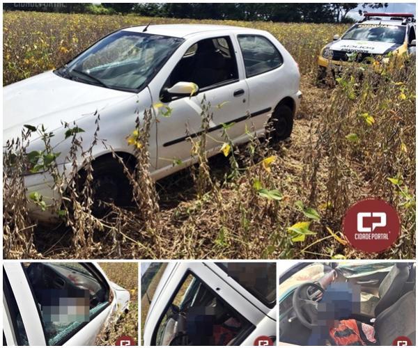 Um corpo foi encontrado com sinais de homicídio na PR-180 entre Goioerê e Moreira Sales