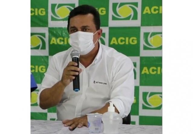 Betinho Lima  pretende investir até R$ 2 milhões na compra de vacinas contra o covid-19