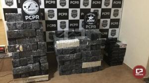 Polícia Civil do Paraná apreende carregamento de drogas avaliado em R$ 40 milhões