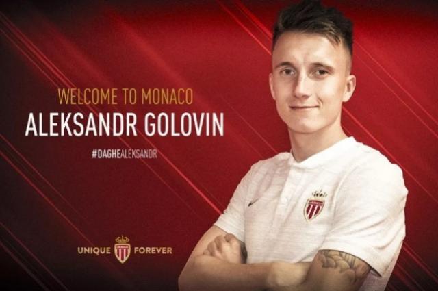 Monaco vence disputa com gigantes europeus e contrata russo Golovin