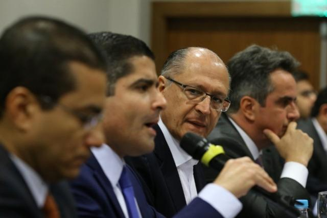 Alckmin e ACM Neto discutem indicações para vice na chapa à Presidência, nome do PP está cotado