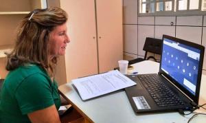Técnicas do NRE de Goioerê realizam reunião com os profissionais de Atendimento Educacional Especializado