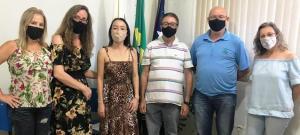Valdemir Mellero e equipe visitam municípios jurisdicionados ao NRE de Goioerê
