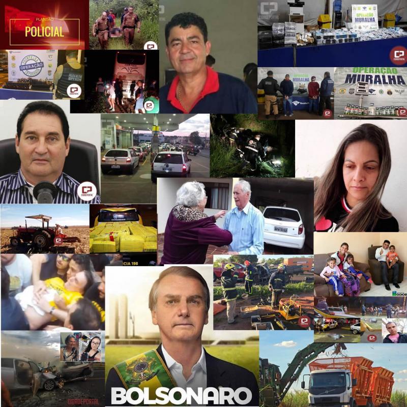 Retrospectiva 2018: Fatos, Acontecimentos e Notícias que marcaram o ano em Goioerê e Região
