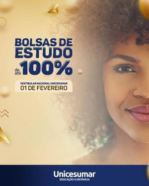 EAD Unicesumar oferece bolsas de estudos de até 100% - conforme nota obtida na prova