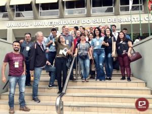 Integrantes do Observatório Social de Goioerê participaram de capacitação em Florianópolis