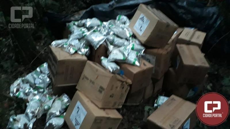 O serviço de inteligência da Polícia Militar de Goioerê localiza mais defensivos agrícolas roubados em fazenda