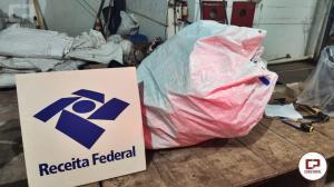 Polícia Rodoviária Estadual de Floresta apreende contrabando durante fiscalização