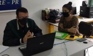 Reunião remota com a equipe pedagógica do NRE realiza alinhamento para o segundo semestre