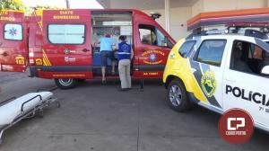 Motorista não da preferencia no cruzamento da Bento Munhoz com Tiradentes e Motoqueiro sofre ferimentos