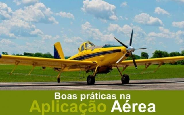 Palestra de Boas Práticas na Pulverização Aérea será realizada dia 31, em Goioerê