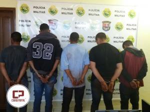 Polícia Militar de Juranda prende quadrilha que assaltou Agro Rural nesta segunda-feira, 27