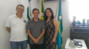 Prefeito Pedro Coelho recebeu professor da UEL para discutir novas parceiras com o Polo UAB em Goioerê