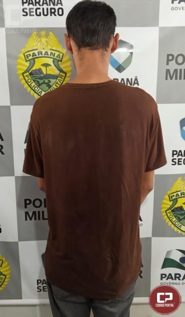 Policiais do 7º BPM prendem autor de roubo em Goioerê