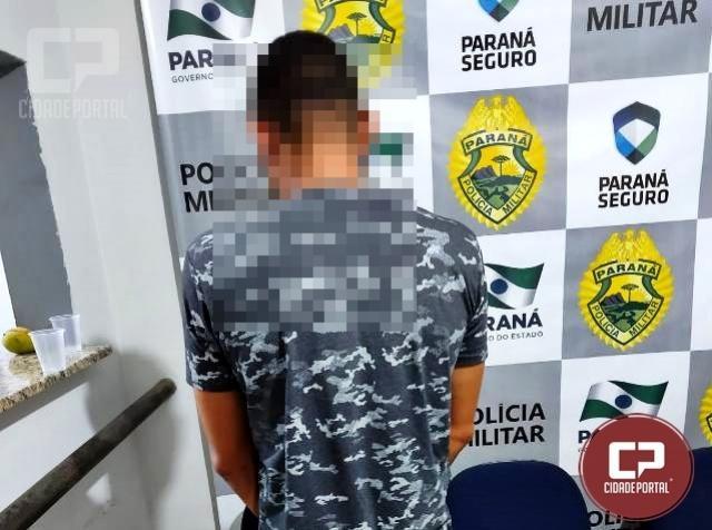 Durante patrulhamento Polícia Militar prende uma pessoa com mandados de prisão em aberto