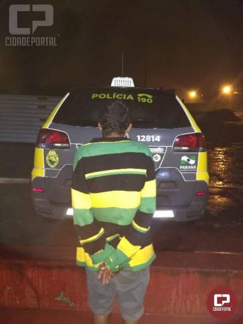 Polícia Militar cumpre mandado de prisão em Cruzeiro do Oeste