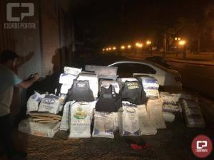 Operação conjunta entre Polícia Federal, DENARC e Polícia Civil realiza grande apreensão de maconha