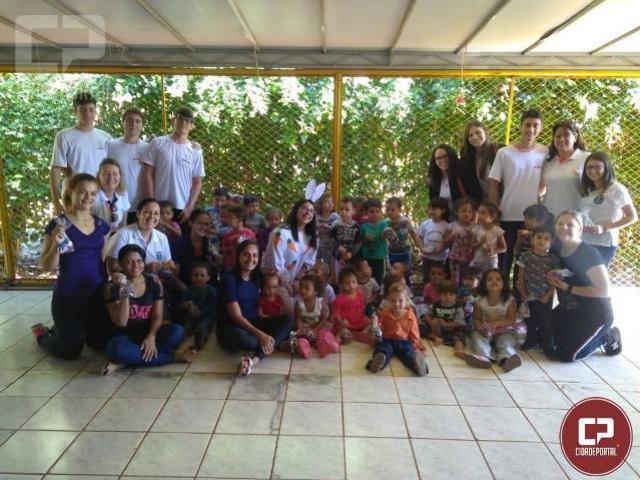 Parceria entre Unicesumar, Novo Mundo, Demolay e Rotaract concretiza projeto solidário