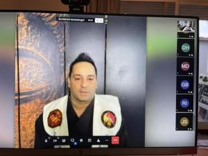 Mestre de Artes Marciais Goioerense participa da Conferência Internacional