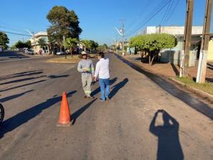Iniciado recape da avenida Mauro Mori até o trevo da Copacol, em Goioerê