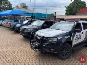 Na semana do combate ao tráfico de drogas, 15 toneladas de drogas apreendidas pela Operação Hórus são incineradas no Paraná