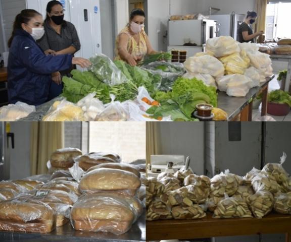 PNAE beneficia produtores e atende 150 famílias em Luiziana neste ano