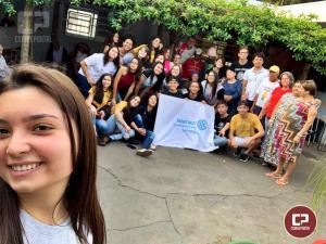 Interact Clube de Goioerê visita Lar de velhinhos em Moreira Sales