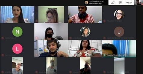 NRE viabiliza videoconferência com a Rede de Proteção do Município de Goioerê