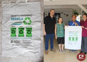 Quarto Centenário realiza melhoria na coleta de materiais recicláveis