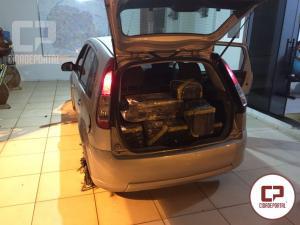 Posto Policial de Iporã apreende 371 KG de entorpecentes e recupera veículo com alerta de roubo