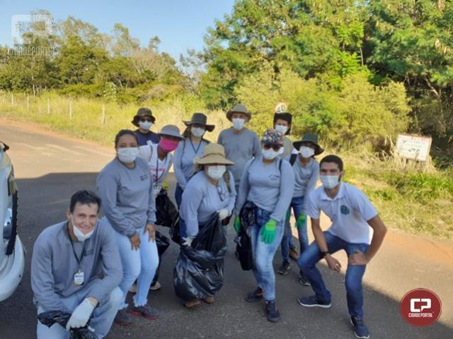 Secretaria de Saúde de Goioerê realiza mutirão de limpeza para combater a dengue