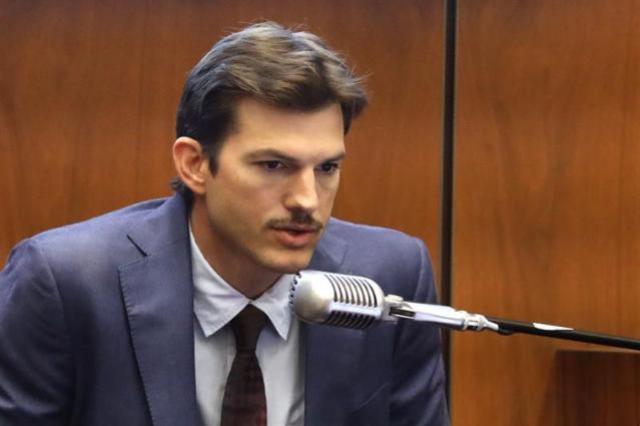 Ashton Kutcher depõe em julgamento de serial killer que matou sua ex