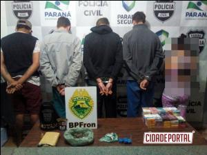 Forças de Segurança Pública cumprem mandados de busca e apreensão em Marechal Cândido Rondon-PR