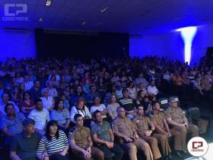 Apresentação da banda da Polícia Militar, encerra atividades do aniversário dos 165 anos da PMPR 7ºBPM