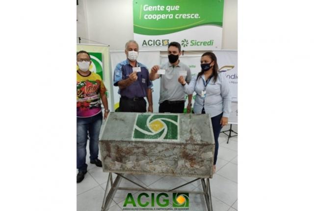 ACIG realizou o primeiro sorteio da promoção do Dia das Crianças