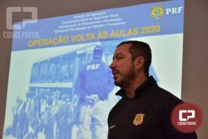 Na volta às aulas, PRF orienta prefeituras sobre fiscalização do transporte escolar