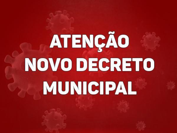 Prefeitura de Goioerê publica novo decreto de enfrentamento ao Covid nesta segunda-feira, 31